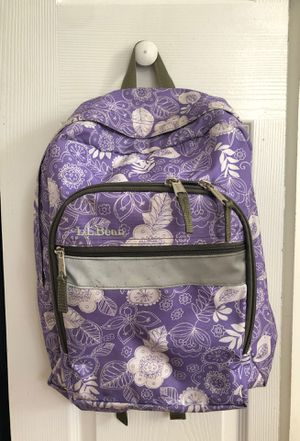 L.L.bean backpack for girls for Sale in Rockville, MD