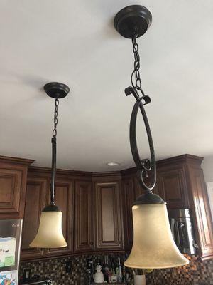 Kitchen light fixture - bronze for Sale in Woodbridge Township, NJ