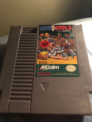 Arch Rivals for NES for Sale in Fort Worth, TX