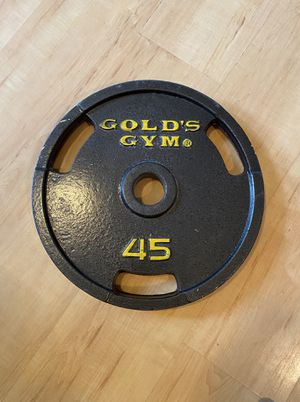 45 lb Olympic Weight Plate for Sale in Federal Way, WA