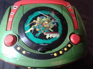Teenage Mutant Ninja Turtles CD Player for Sale in Arlington, WA