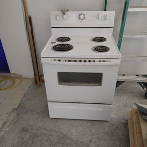Electric Stove Whirlpool for Sale in Springfield, VA