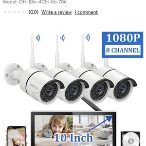 OHWOAI Security Camera System 1TB Hard Drive for Sale in Los Angeles, CA