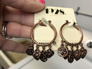 1928 Antiqued Earrings for Sale in Baltimore, MD