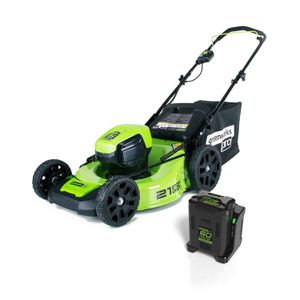 Greenworks Pro Brushless Lawn mower + 2 BATTERIES INCLUDED for Sale in Atlanta, GA