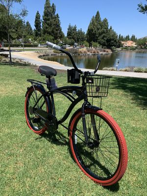 """New awesome beach cruiser deluxe men's bike bicycle 26"""" for Sale in San Diego, CA"""