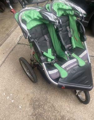 Schwinn Turismo Double Jogging Stroller for Sale in Katy, TX