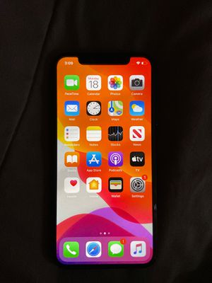 iPhone X (black) for Sale in Fresno, CA