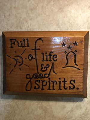 Wood Frame Spirit for Sale in Clarksburg, WV