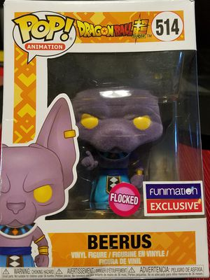 Funko Pop! Dragon Ball Z - Flocked Beerus #514 Funimation. for Sale in Downey, CA