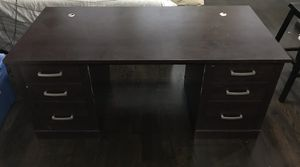 Dark Brown Desk For Sale for Sale in Oak Park, IL