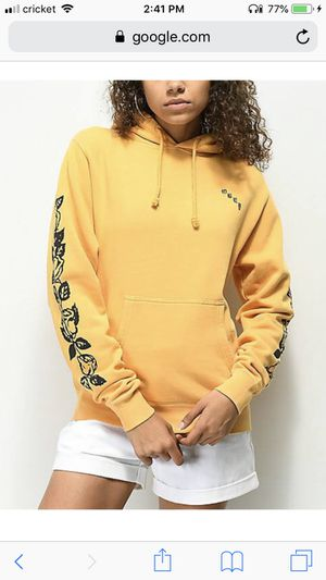 zumiez obey yellow hoodie for Sale in Gresham, OR