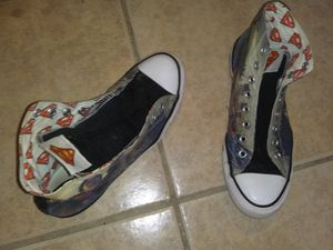 Super man Hightop Converse for Sale in Haines City, FL
