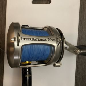 Penn International 70 VIS Two Speed Reel - 70VIS - Silver for Sale in Huntington Beach, CA