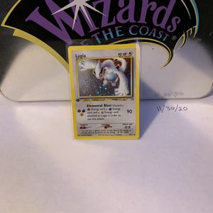 1st Edition LUGIA Pokemon Card For Sale Holographic And Very Rare Must Look for Sale in Boring, OR