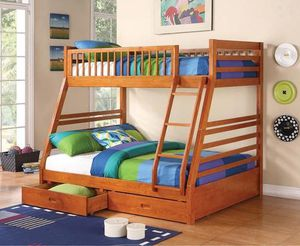 Sale🔥🔥🔥Twin / Full Bunk Bed 🛏🎈🛏 for Sale in Fresno, CA