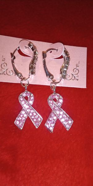Beautiful nice earrings for cancer $10 for Sale in Norfolk, VA