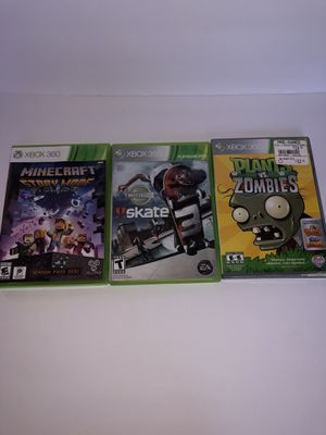 Xbox 360 games (3 pack) for Sale in Hamden, CT
