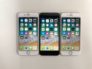Factory unlocked Iphone 6 Plus 64GB (available: grey, silver & gold color) - $230 each, firm price for Sale in Renton, WA