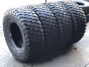 37/12.50R17 BFGoodRich KR2 tires (4 for $800) 85% for Sale in Norwalk, CA