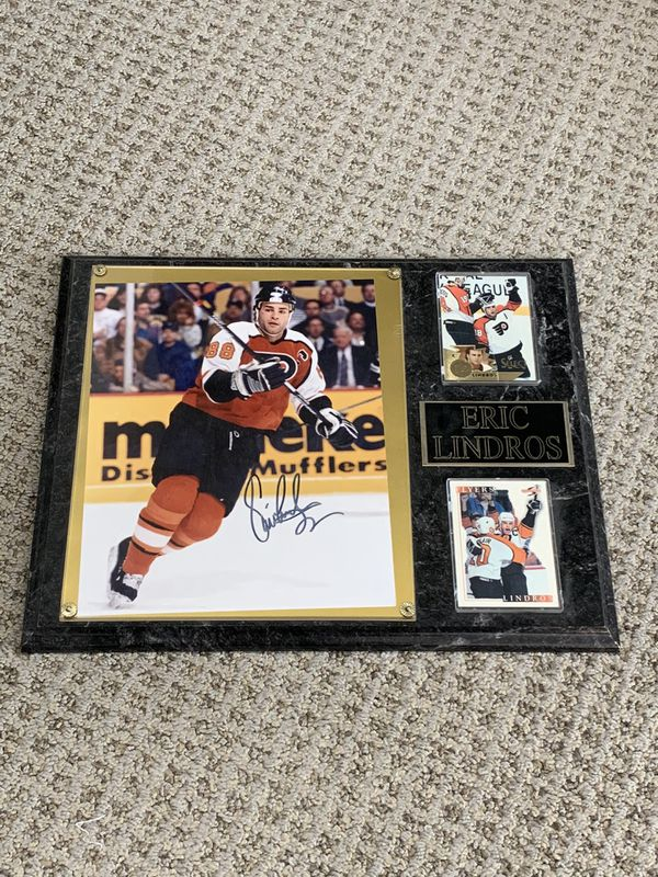 Eric Lindros Signed picture