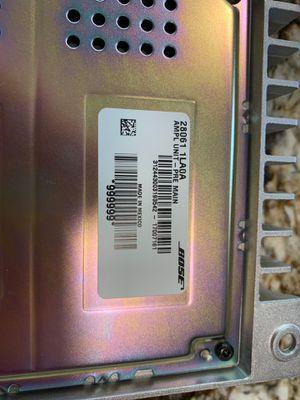 Bose amplifier from 2017 Nissan Armada platinum for Sale in Phoenix, AZ