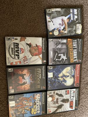 PS2 Games (15 games) - $10 for Sale in San Diego, CA