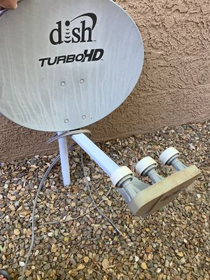Portable Dish Network dish and stand for RV for Sale in Mesa, AZ
