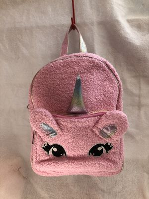 Unicorn Sherpa Girls Backpack for Sale in Downey, CA