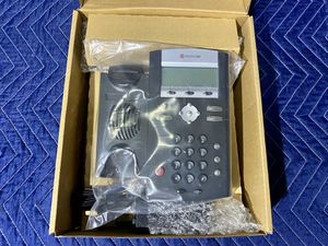 Polycom SoundPoint IP Phone [Model # 2200-12365-001] for Sale in Rancho Cucamonga, CA