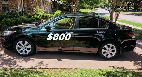 $8OO URGENT I'm selling my family's car 2OO9 Honda Accord Sedan Runs and drives great! Clean title.