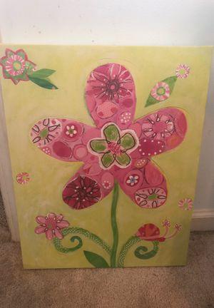 Girl flower picture for Sale in Woodstock, GA