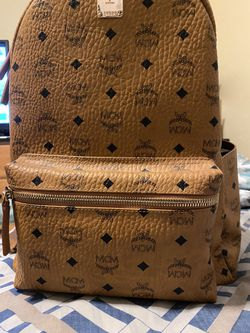 100% Authentic Mcm Backpack Brown for Sale in Biscayne Park,  FL