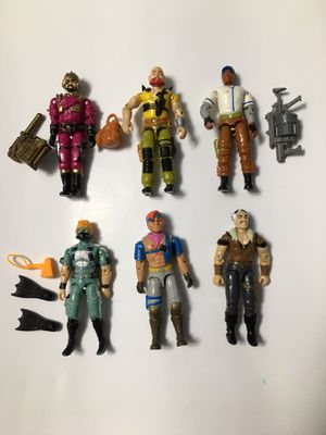 Vintage GI JOES Action Figures for Sale in Herndon, VA