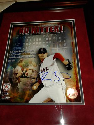 Red sox Clay Buchholz no hitter autogragh for Sale in Waltham, MA