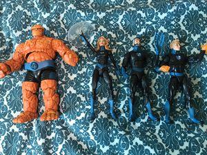 Marvel Legends Fantastic 4 for Sale in Clovis, CA