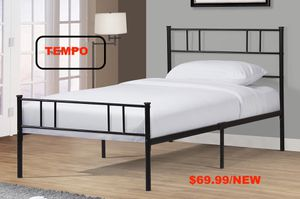 Metal Platform Bed, Black for Sale in Fountain Valley, CA