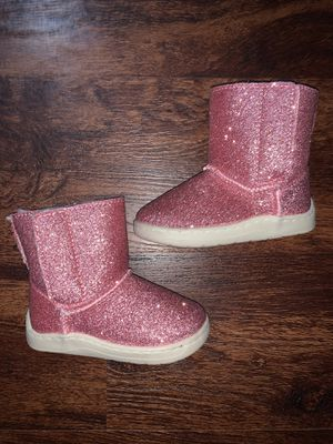 Baby girl glitter boots for Sale in Anaheim, CA