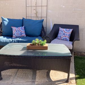 Patio Furniture With Cushions for Sale in Riverside, CA