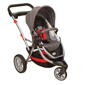 Kolcraft jogging stroller - comes with attachment for child carrier for Sale in Portland, OR