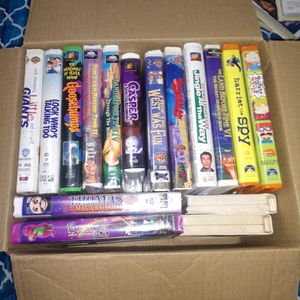 30-35 VHS MOVIES for Sale in Miller Place, NY