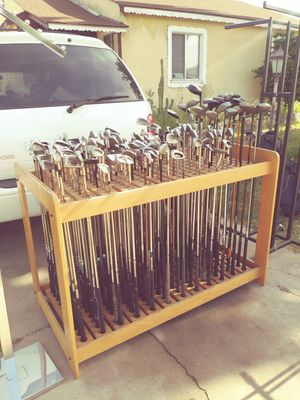 Many different types of new and used golf clubs for Sale in Gardena, CA