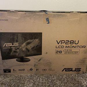 Asus Gaming Monitor 4k VP28U Brand New for Sale in Riverside, CA