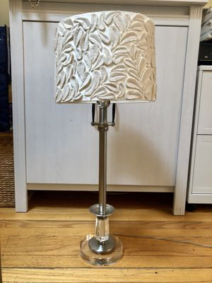Lamp with Anthropologie Shade for Sale in Boston, MA