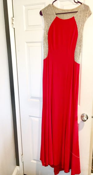 Prom/Banquet Dress size 10 (used once) for Sale in Murrieta, CA