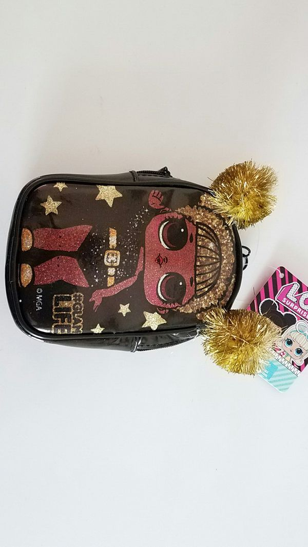 New L.o.l surprise furniture with queen bee doll, and lol mini backpack clip purse $20