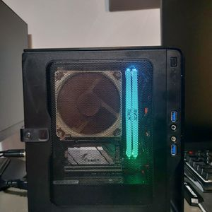 Chopin Mini-ITX Full Build (3200G) (Office, Media, light gaming PC) for Sale in Naperville, IL