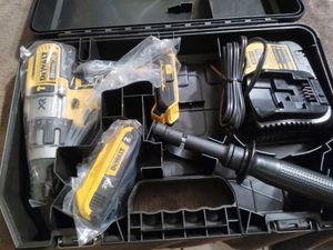 New DeWalt 20 v XR brushless 3 speed hammer drill kit in hard case for Sale in Dinuba, CA