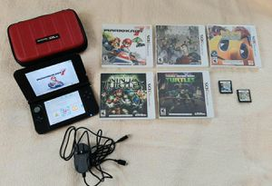 NINTENDO 3DS W/ CASE, CHARGER AND 7 GAMES for Sale in Latrobe, PA