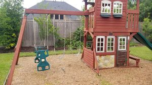 Playground swing set for Sale in Houston, TX